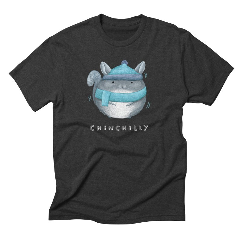 Chinchilly Men's Triblend T-Shirt by Sophie Corrigan's Artist Shop