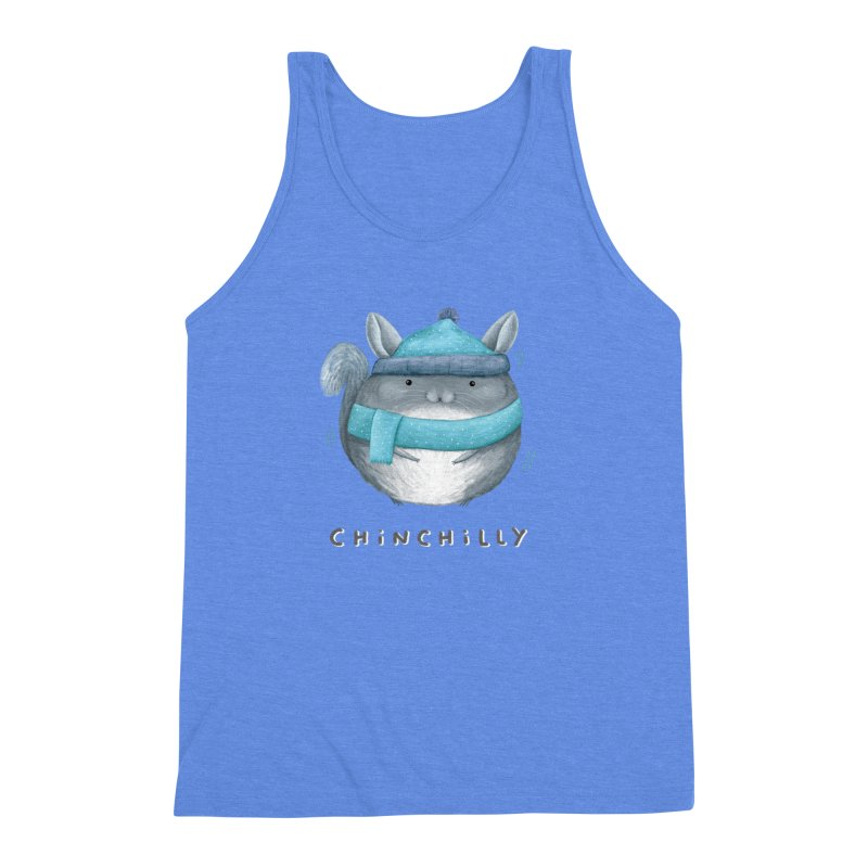 Chinchilly Men's Triblend Tank by Sophie Corrigan's Artist Shop