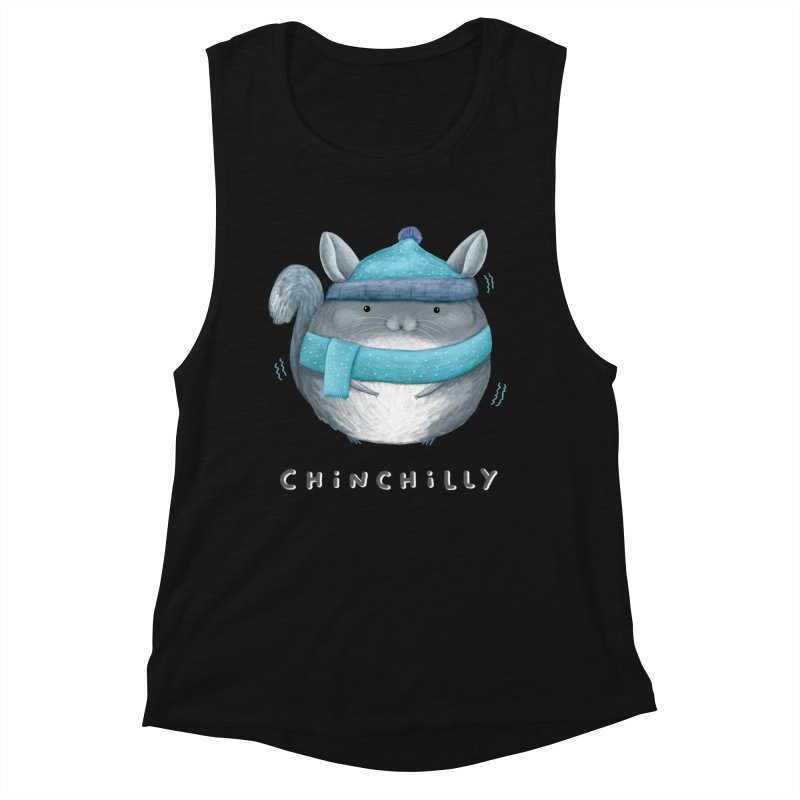 Chinchilly Women's Muscle Tank by Sophie Corrigan's Artist Shop