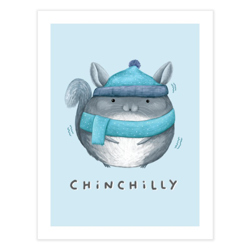 Chinchilly Home Fine Art Print by Sophie Corrigan's Artist Shop