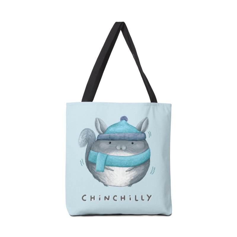 Chinchilly Accessories Tote Bag Bag by Sophie Corrigan's Artist Shop