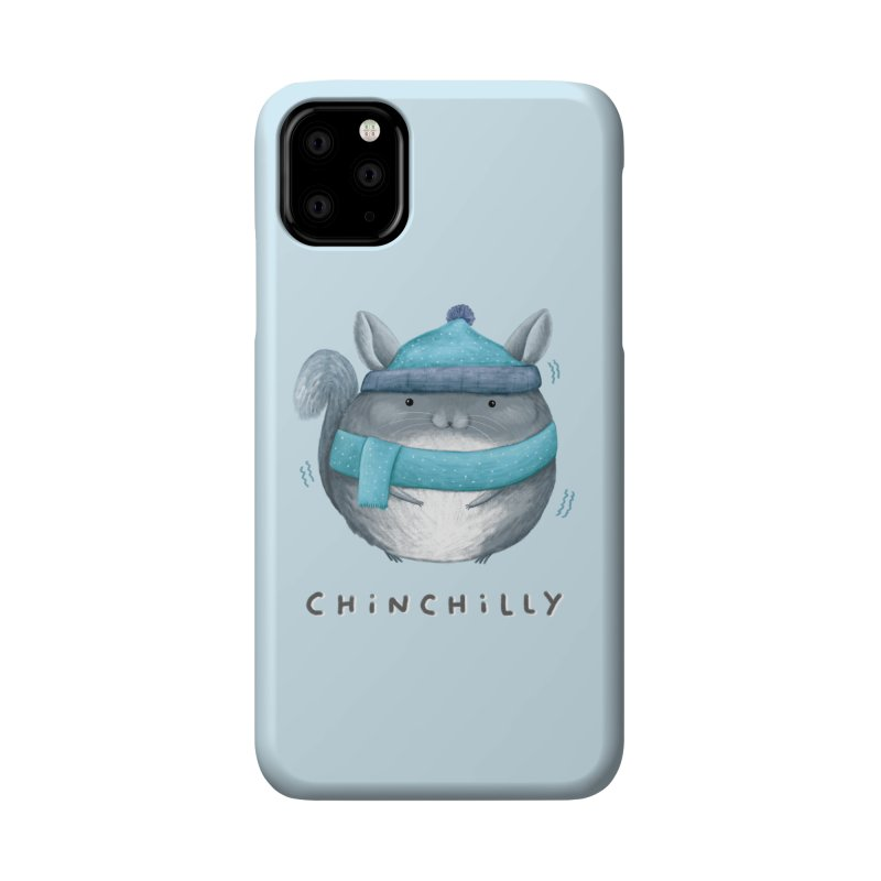 Chinchilly Accessories Phone Case by Sophie Corrigan's Artist Shop