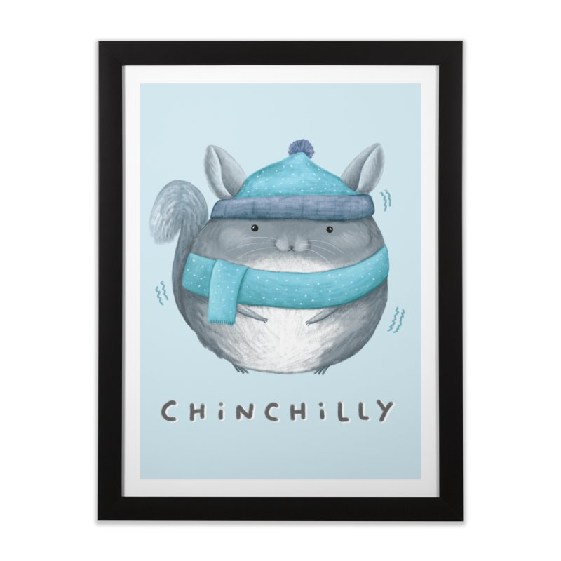 Chinchilly Home Framed Fine Art Print by Sophie Corrigan's Artist Shop