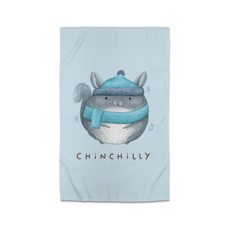 Chinchilly Home Rug by Sophie Corrigan's Artist Shop