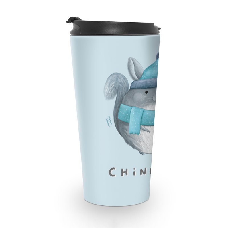 Chinchilly Accessories Travel Mug by Sophie Corrigan's Artist Shop