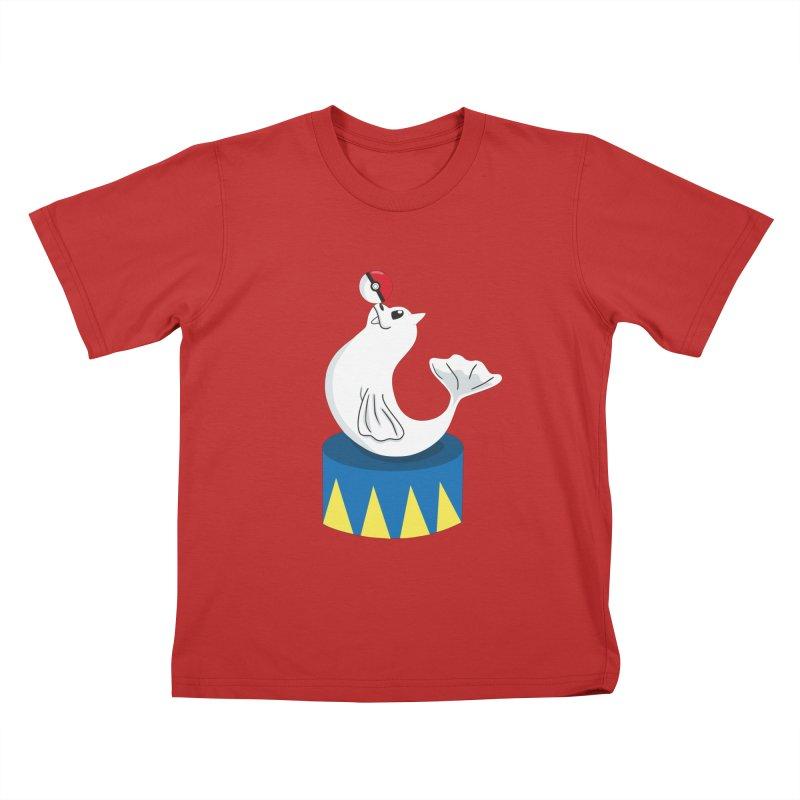 Balance Beam Kids T-Shirt by katie creates