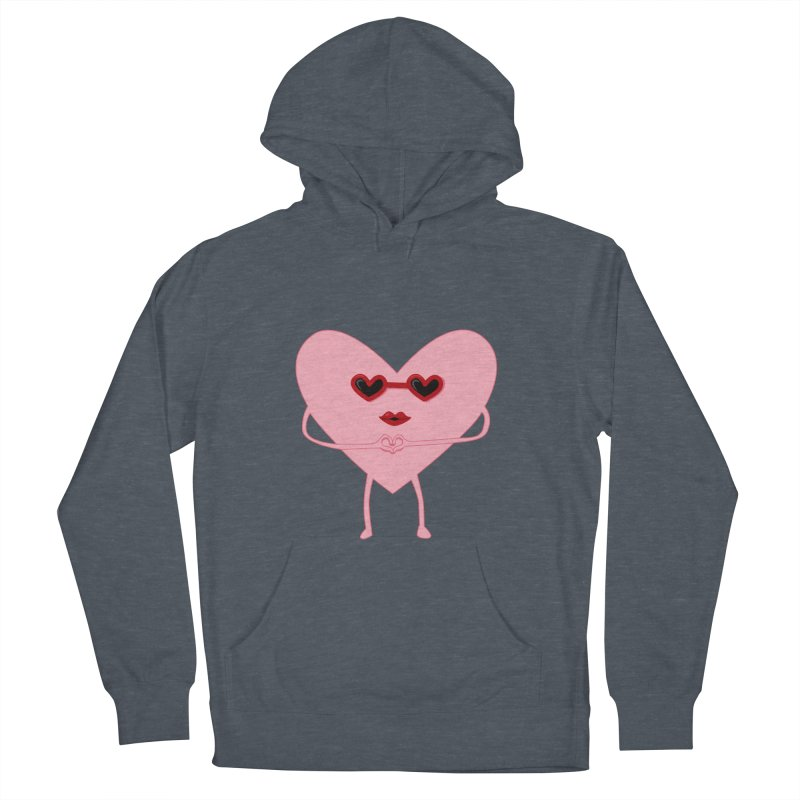 I Heart You Men's Pullover Hoody by katie creates