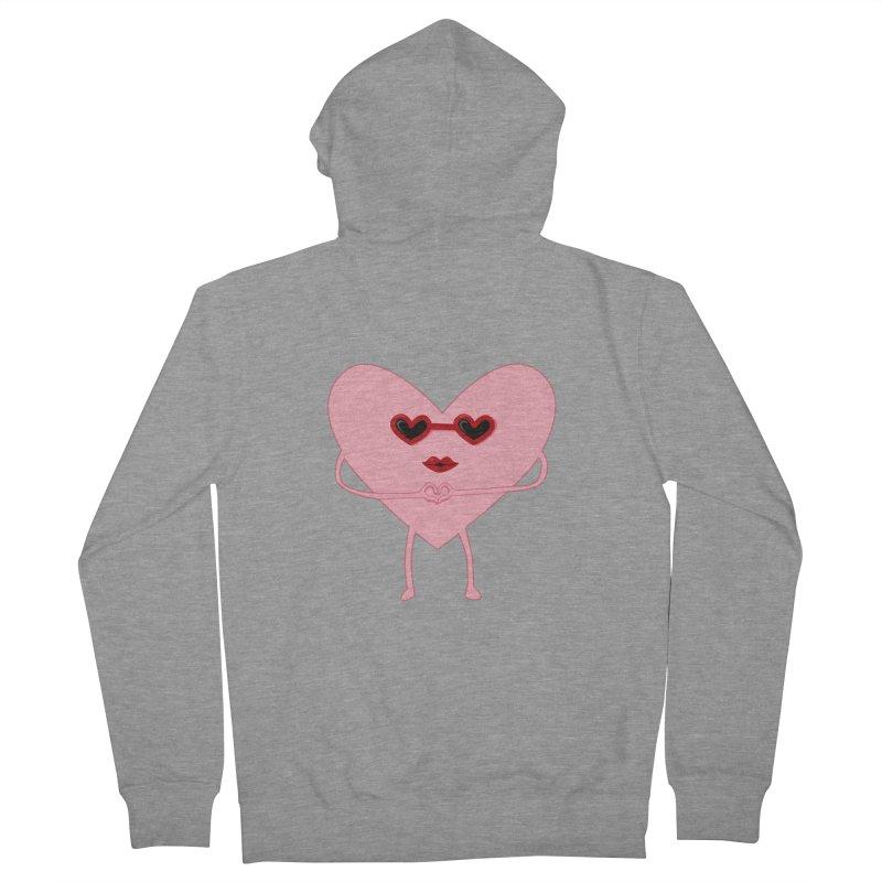I Heart You Women's Zip-Up Hoody by katie creates