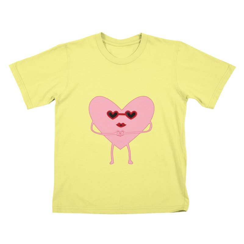 I Heart You Kids T-shirt by katie creates