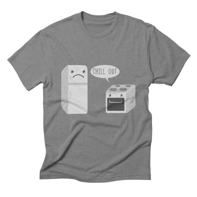Chill Out Men's Triblend T-Shirt by katie creates