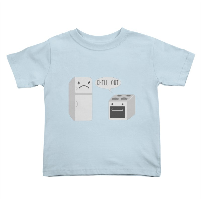 Chill Out Kids Toddler T-Shirt by katie creates