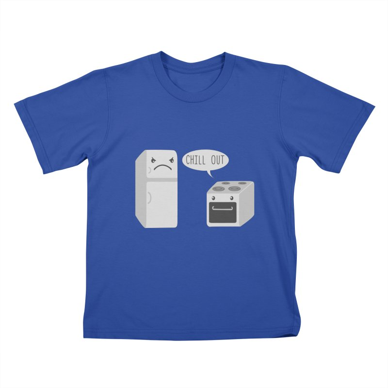 Chill Out Kids T-shirt by katie creates