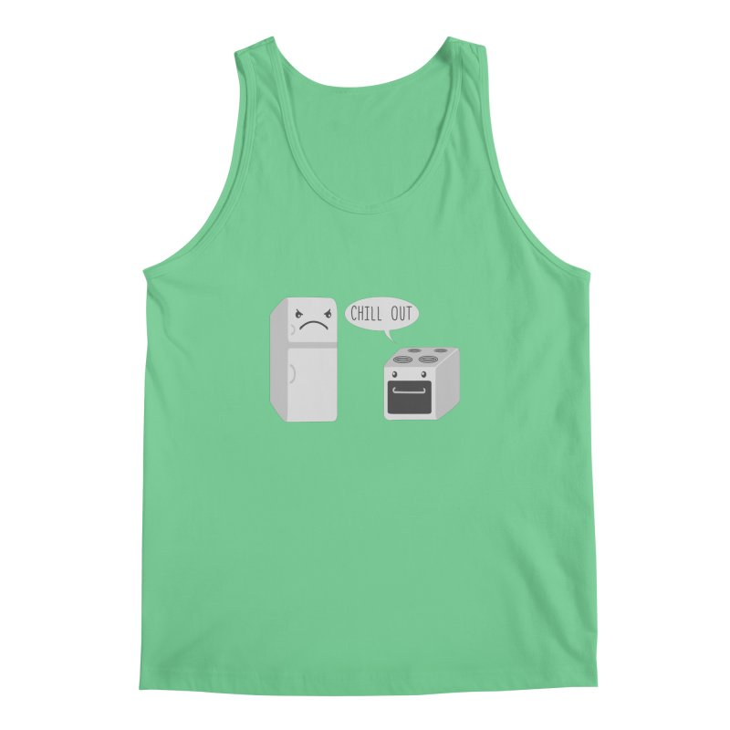 Chill Out Men's Tank by katie creates