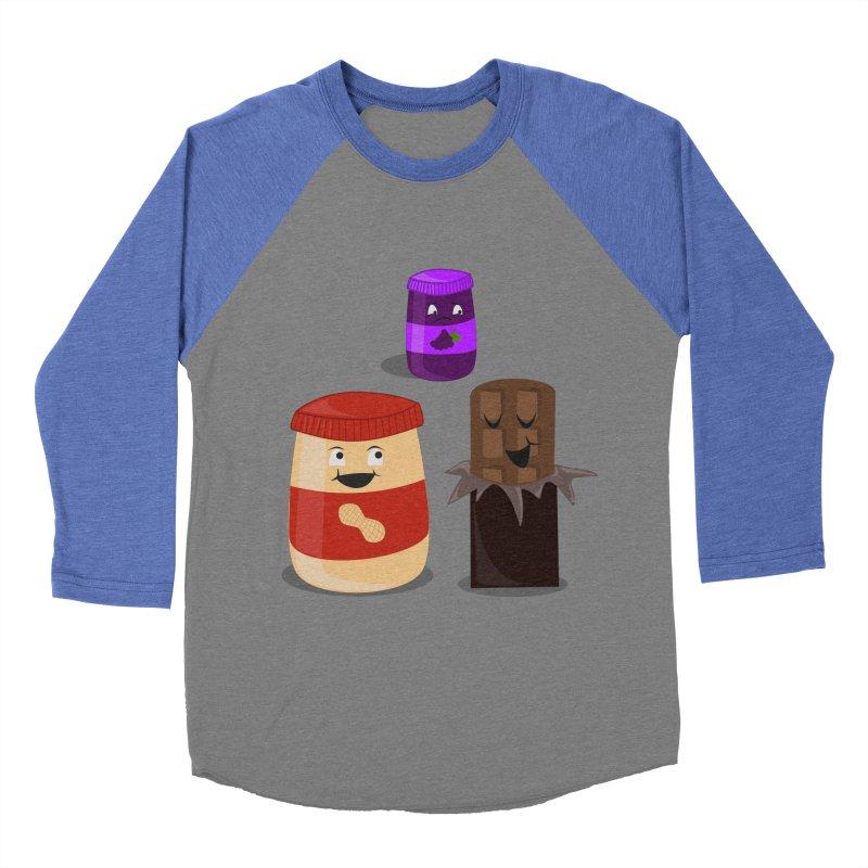 New Best Friend Men's Baseball Triblend T-Shirt by katie creates
