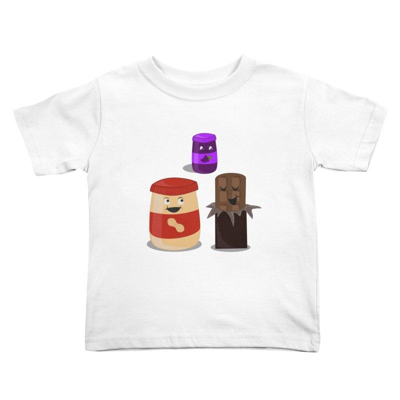 New Best Friend Kids Toddler T-Shirt by katie creates