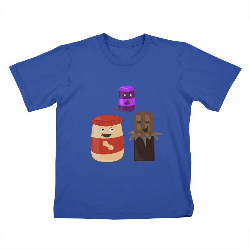 New Best Friend Kids T-shirt by katie creates