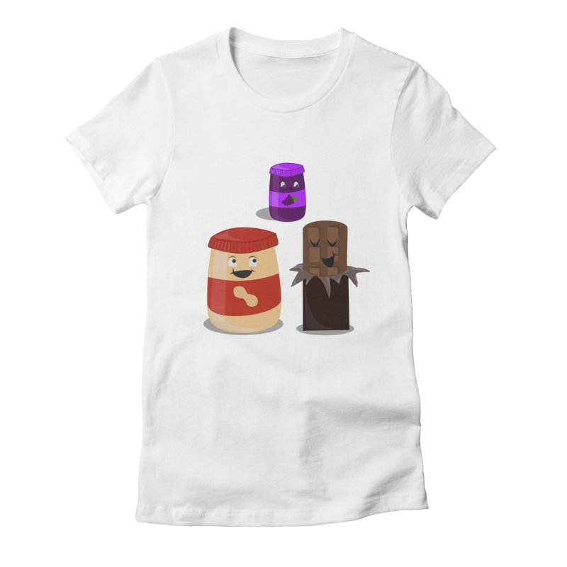 New Best Friend Women's Fitted T-Shirt by katie creates