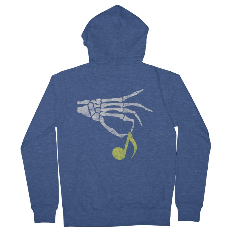 Drop The Beat Men's Zip-Up Hoody by katie creates