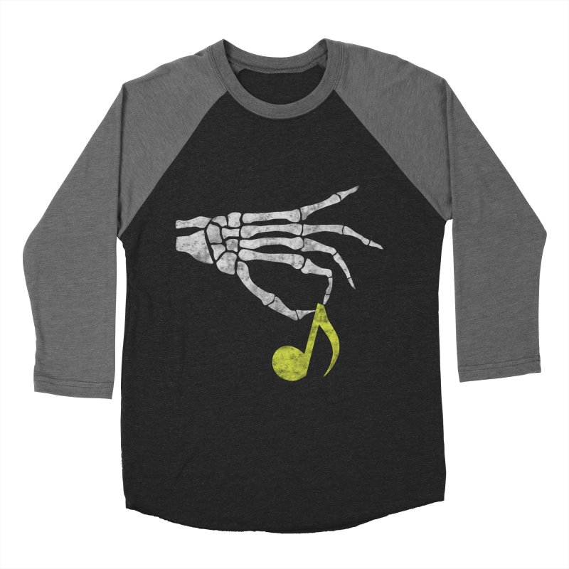 Drop The Beat Men's Baseball Triblend T-Shirt by katie creates