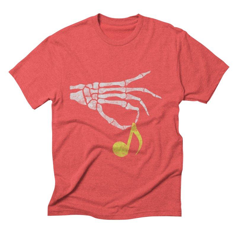 Drop The Beat Men's Triblend T-shirt by katie creates