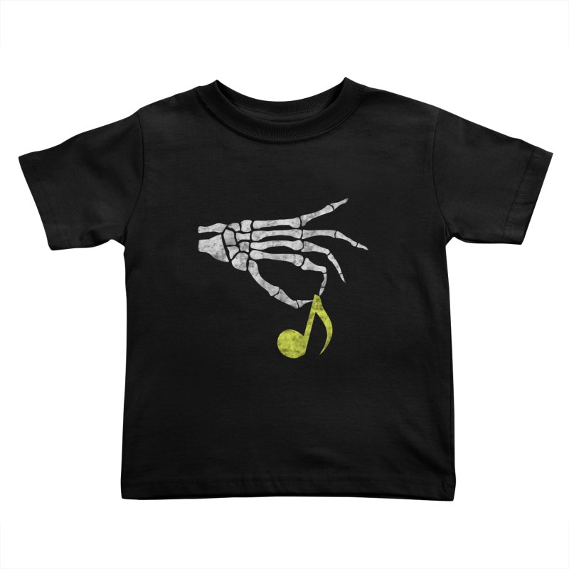 Drop The Beat Kids Toddler T-Shirt by katie creates