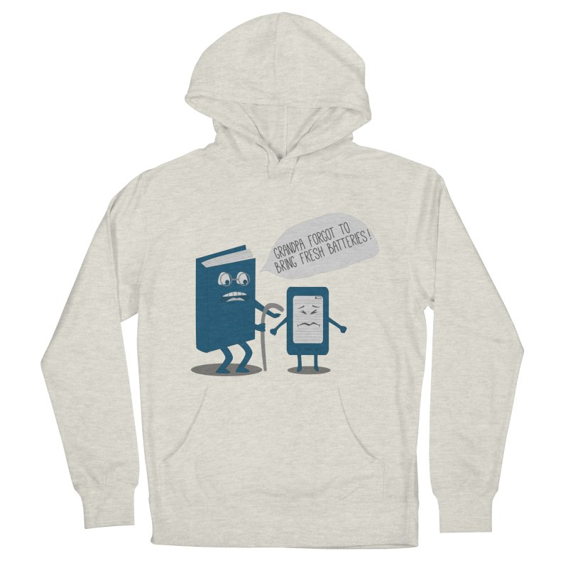 Fresh Batteries Women's Pullover Hoody by katie creates