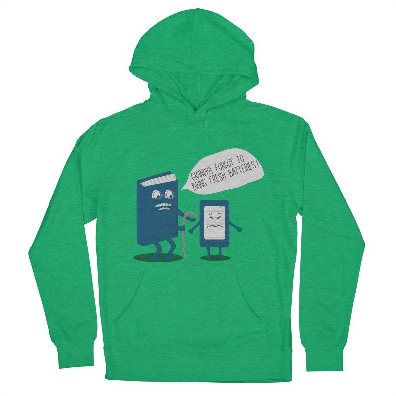 Fresh Batteries Men's Pullover Hoody by katie creates