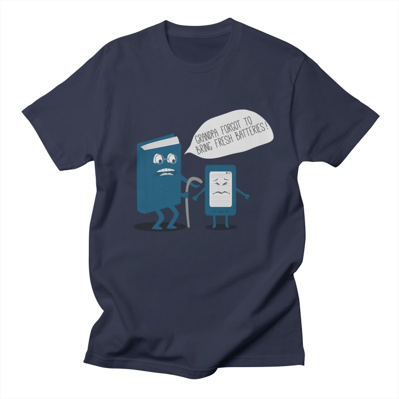 Fresh Batteries Men's T-shirt by katie creates