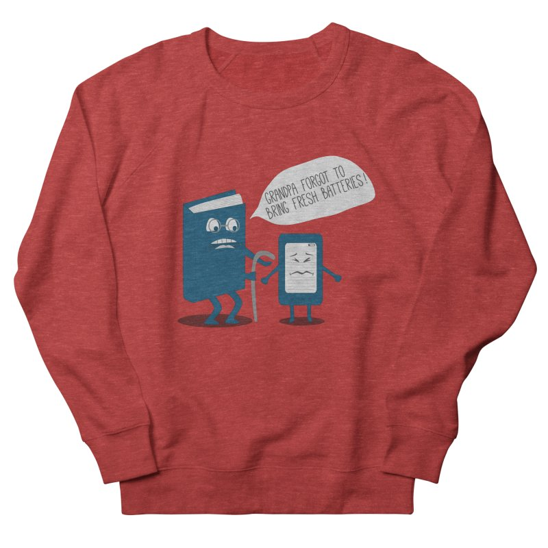 Fresh Batteries Women's Sweatshirt by katie creates