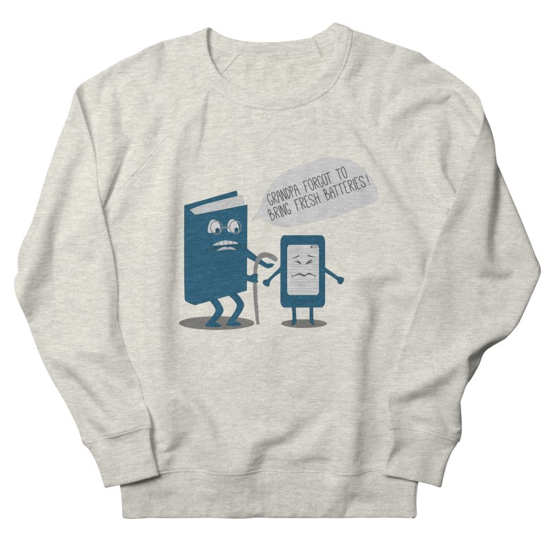 Fresh Batteries Women's Sweatshirt by katie creates