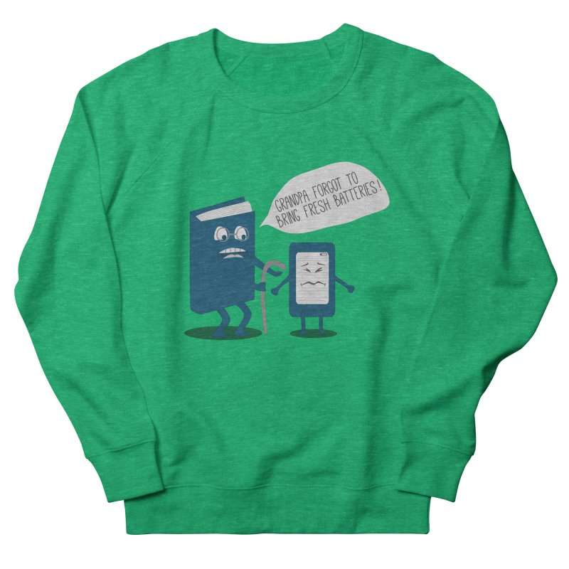 Fresh Batteries Men's Sweatshirt by katie creates