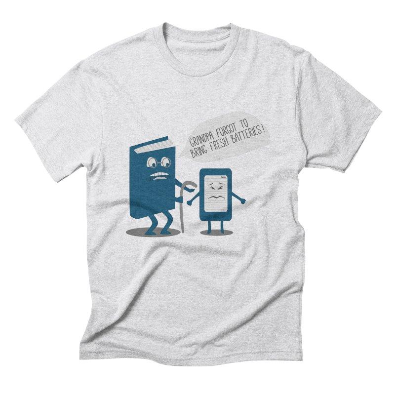 Fresh Batteries Men's Triblend T-Shirt by katie creates