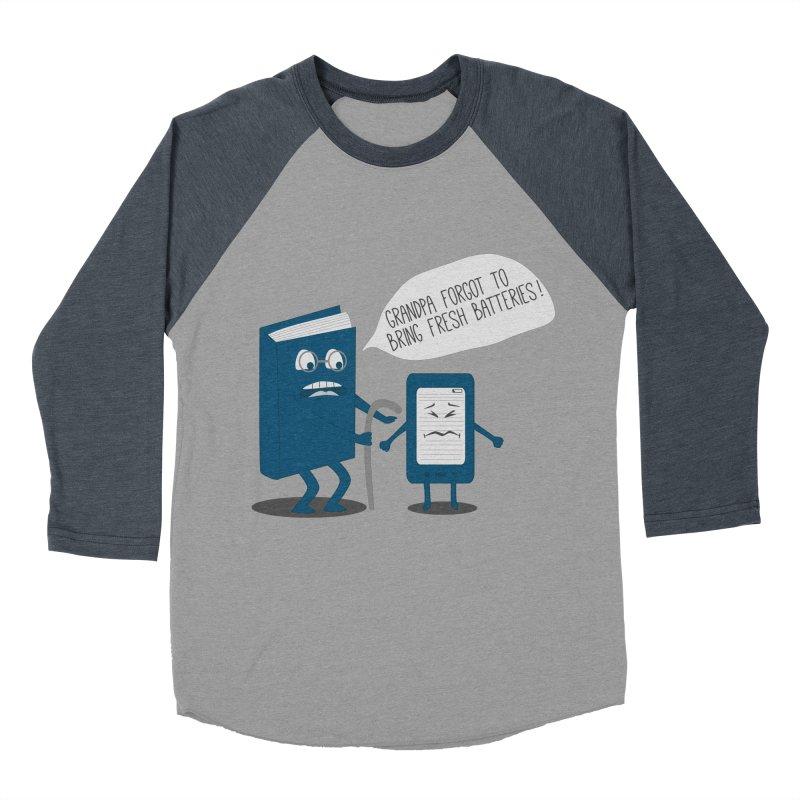 Fresh Batteries Women's Baseball Triblend T-Shirt by katie creates