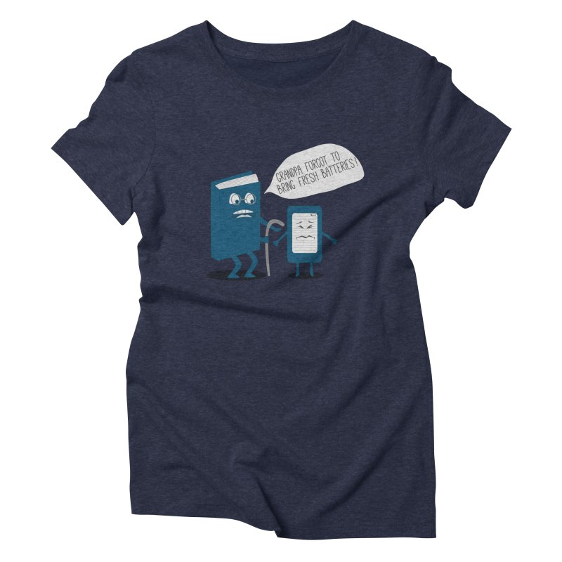 Fresh Batteries Women's Triblend T-shirt by katie creates