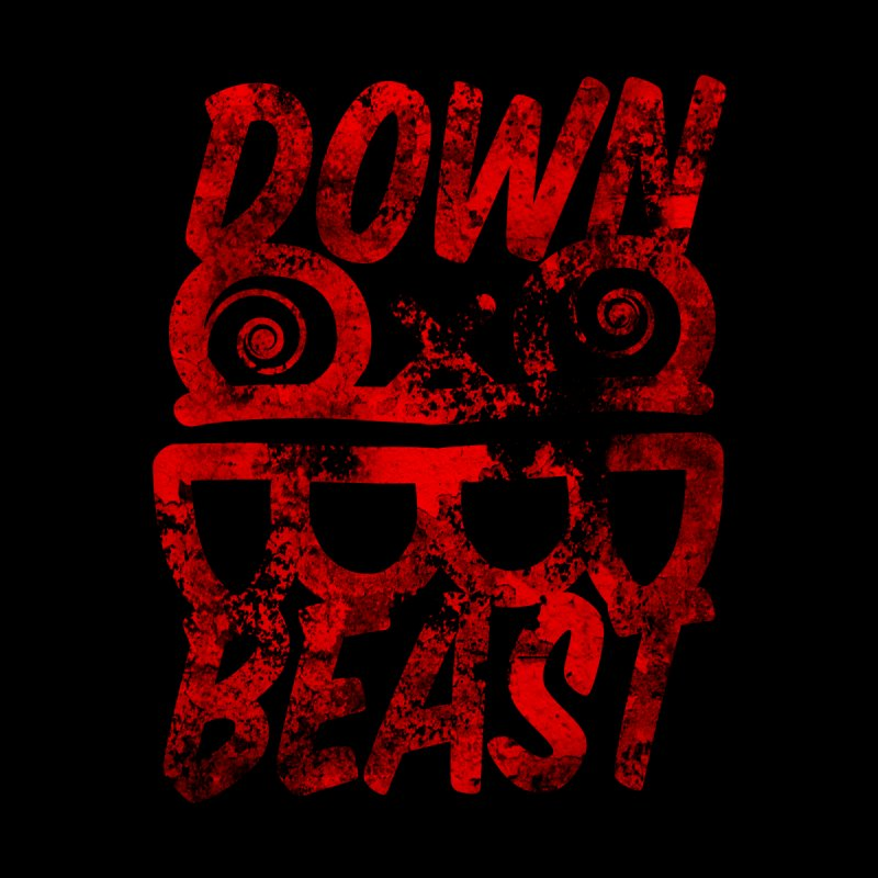 Down Beast Red Paint 1 Men's T-Shirt by South Addison Picture Company Artist Shop