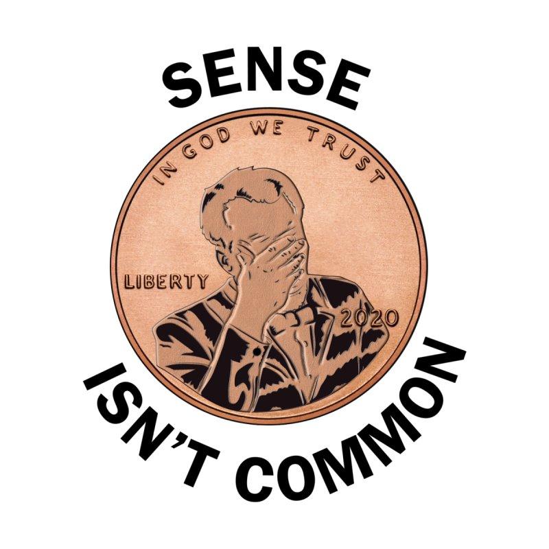 Sense Isn't Common - White Men's T-Shirt by South Addison Picture Company Artist Shop