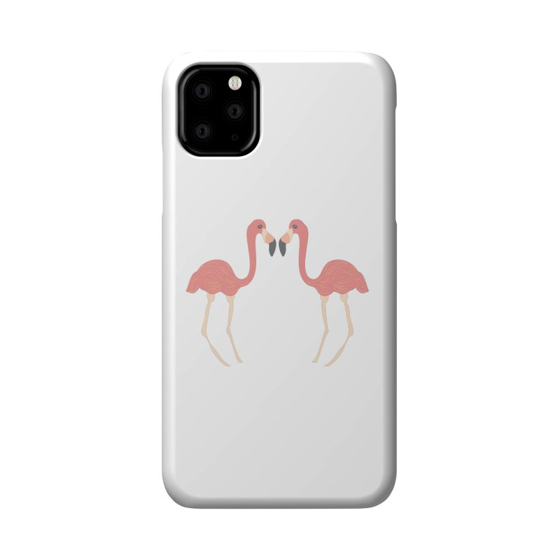 Flamingos Accessories Phone Case by Southerly Design Artist Shop