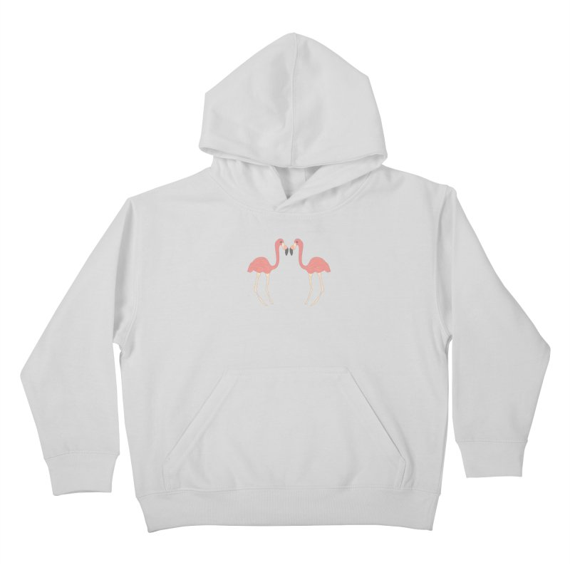 Flamingos Kids Pullover Hoody by Southerly Design Artist Shop