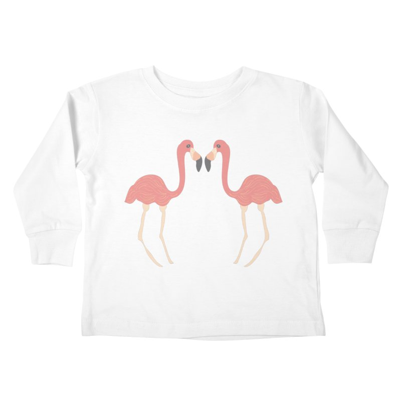 Flamingos Kids Toddler Longsleeve T-Shirt by Southerly Design Artist Shop