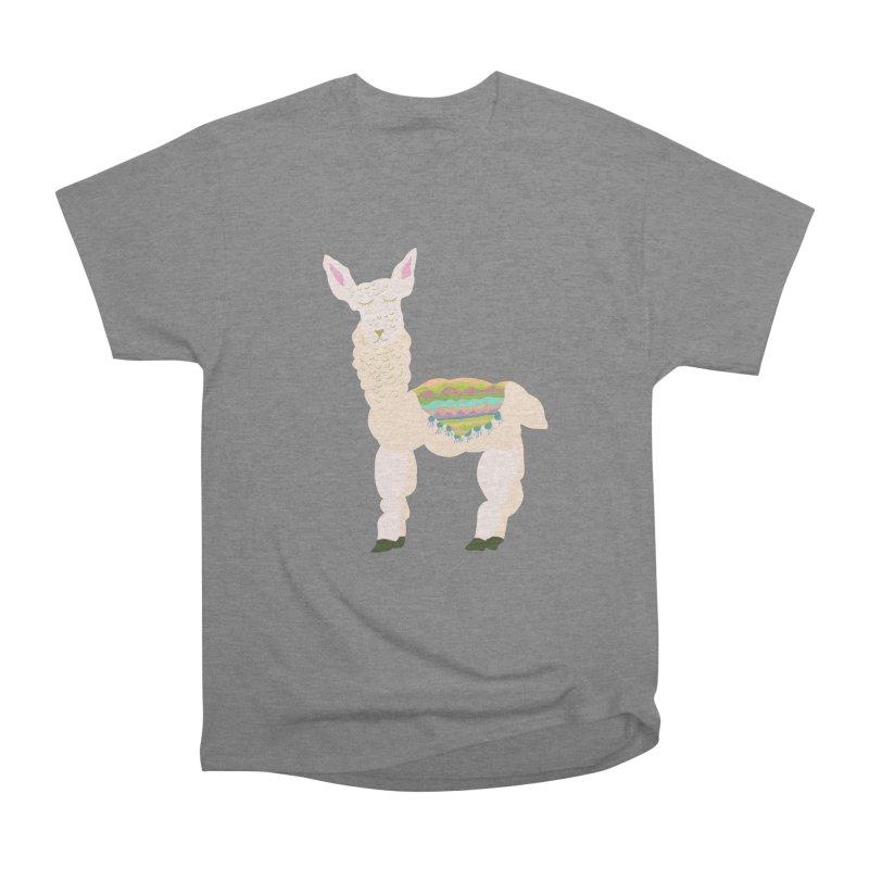 Llama Party! Men's Heavyweight T-Shirt by Southerly Design Artist Shop