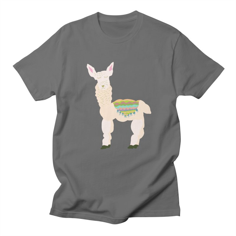 Llama Party! Men's T-Shirt by Southerly Design Artist Shop