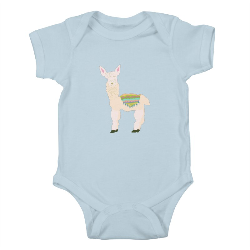 Llama Party! Kids Baby Bodysuit by Southerly Design Artist Shop