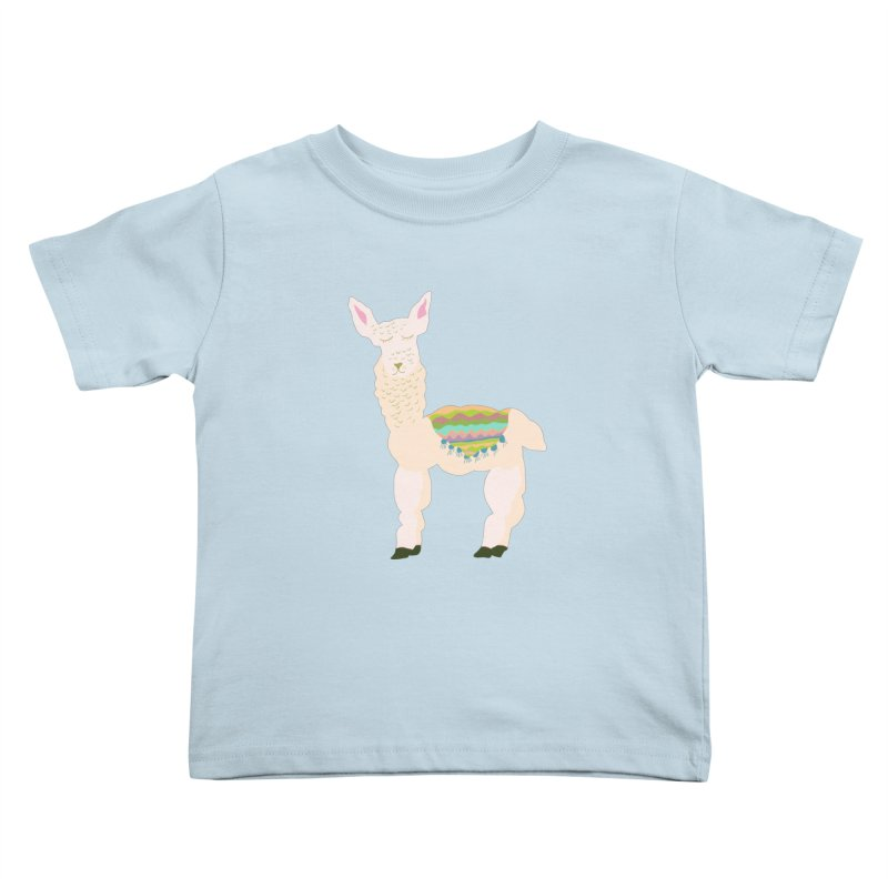 Llama Party! Kids Toddler T-Shirt by Southerly Design Artist Shop