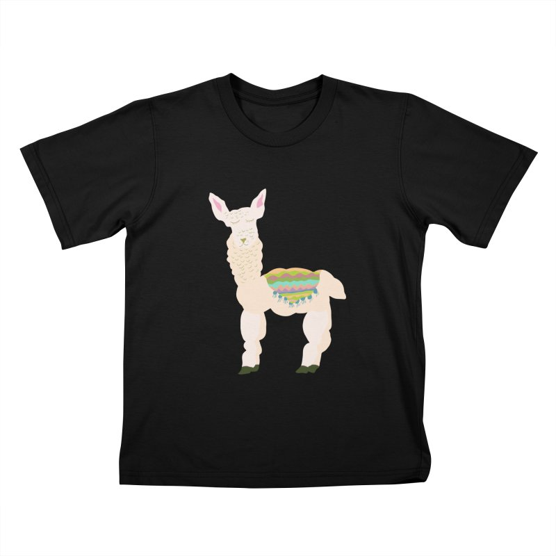 Llama Party! Kids T-Shirt by Southerly Design Artist Shop
