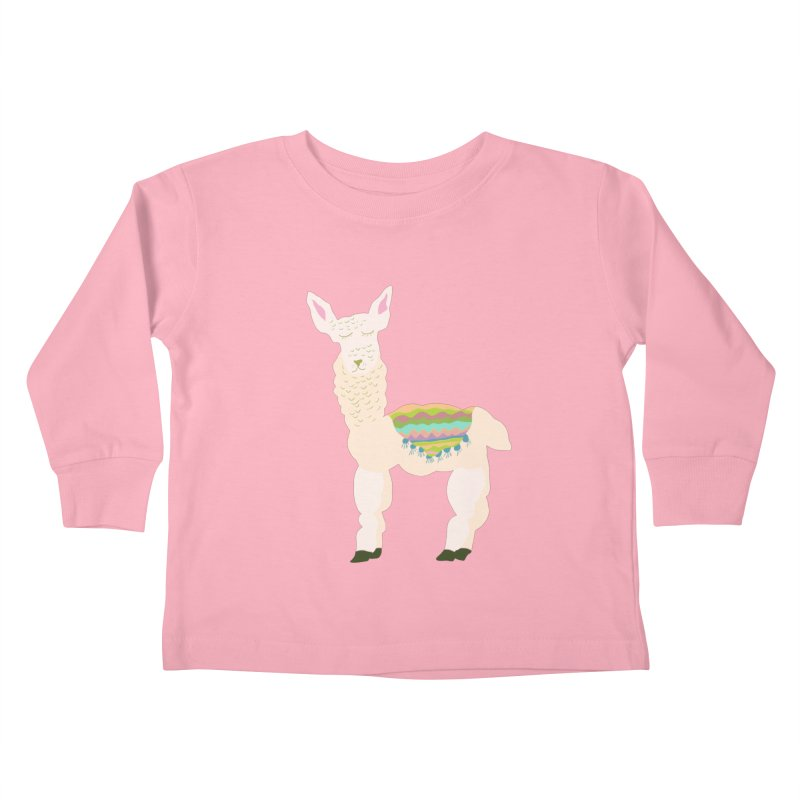 Llama Party! Kids Toddler Longsleeve T-Shirt by Southerly Design Artist Shop