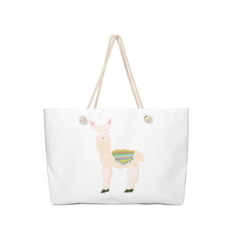 Llama Party! Accessories Weekender Bag Bag by Southerly Design Artist Shop