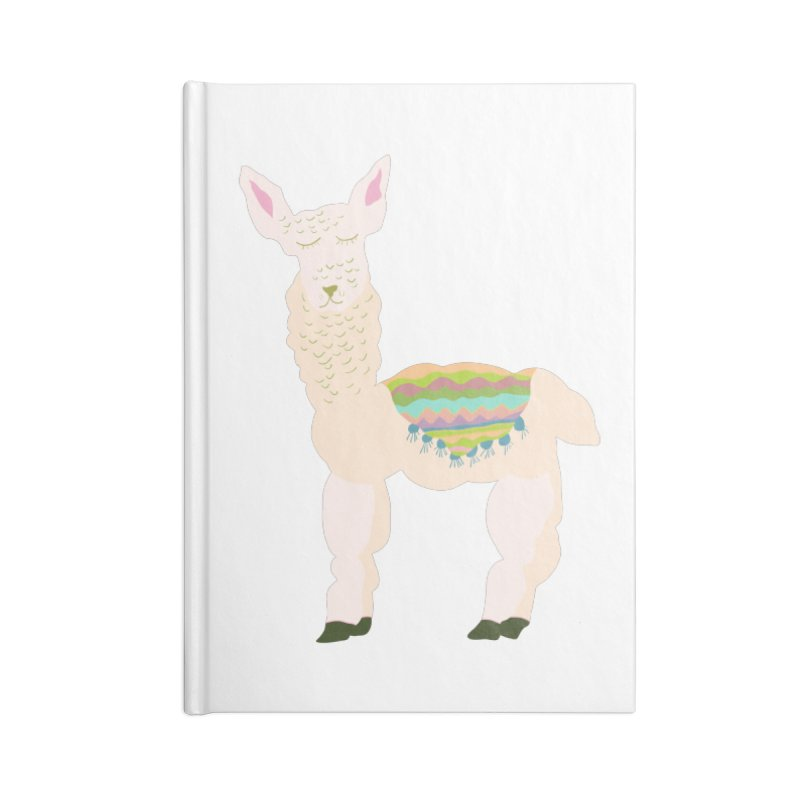 Llama Party! Accessories Blank Journal Notebook by Southerly Design Artist Shop