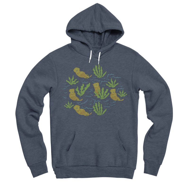 Otterly Adorbs Sea Otters Women's Sponge Fleece Pullover Hoody by Southerly Design Artist Shop