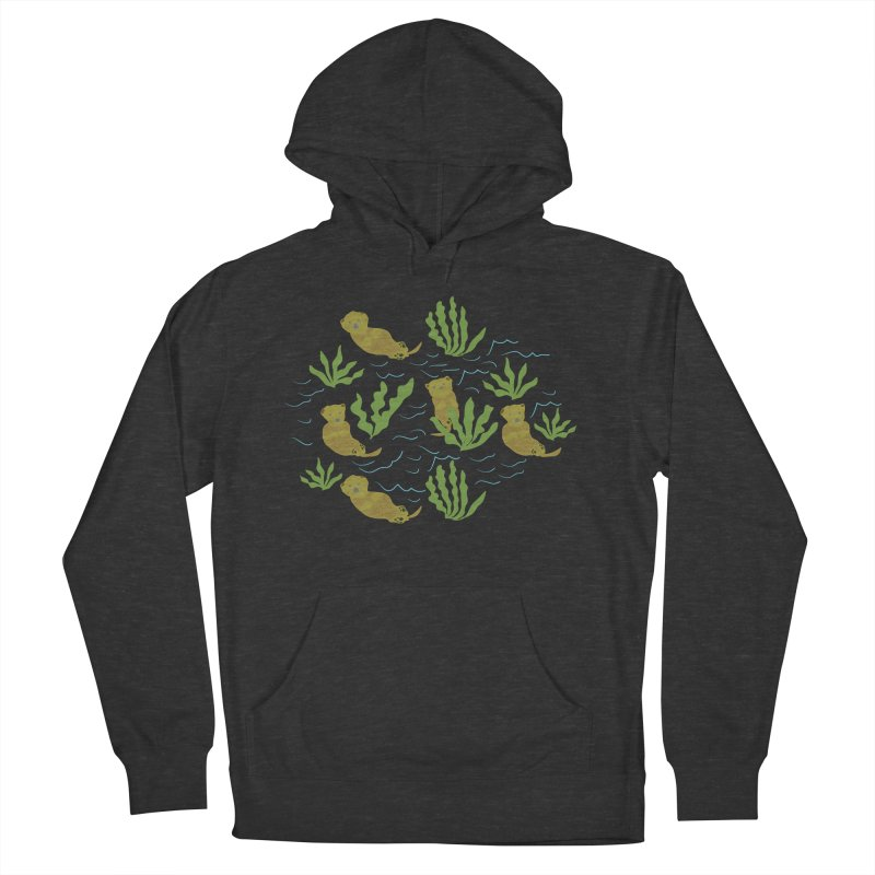 Otterly Adorbs Sea Otters Men's French Terry Pullover Hoody by Southerly Design Artist Shop