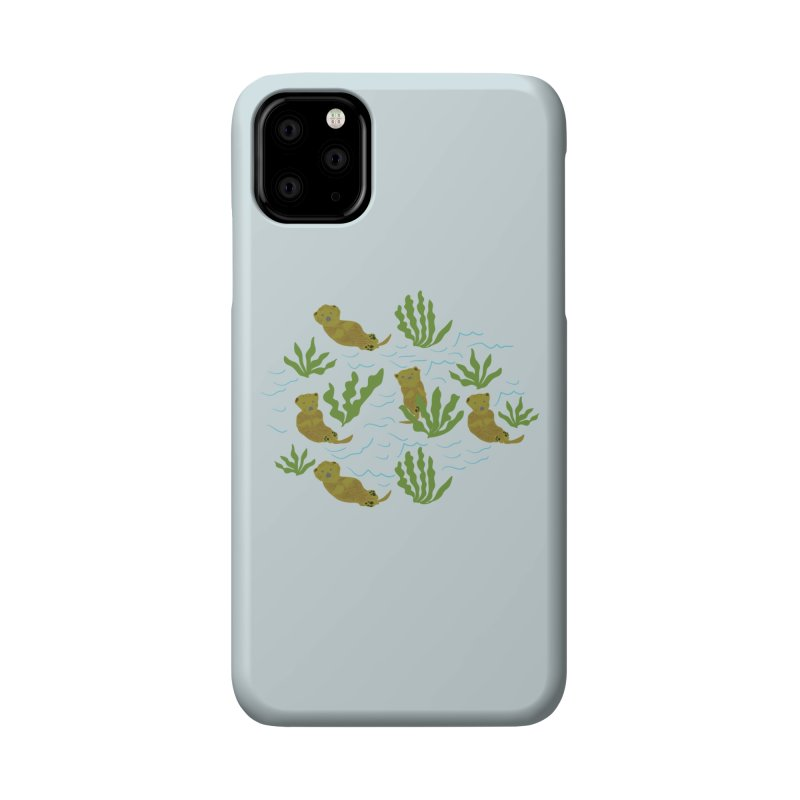 Otterly Adorbs Sea Otters Accessories Phone Case by Southerly Design Artist Shop